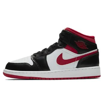 "Jordan Air Jordan 1 Mid GS ""Black Gym Red"" DJ4695-122"