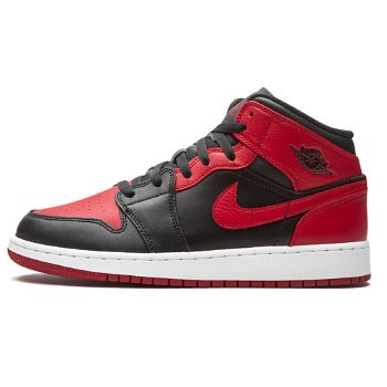 "Jordan Air Jordan 1 Mid GS ""Banned"" 554725-074"