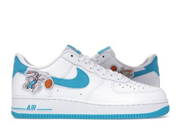 """Nike Space Jam x Air Force 1 '07 Low """"Hare"""" DJ7998-100"""