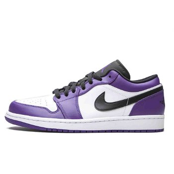 "Jordan Air Jordan 1 Low ""Court Purple"" 553558-500"
