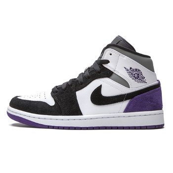 "Jordan Air Jordan 1 Mid SE ""Varsity Purple"" 852542-105"