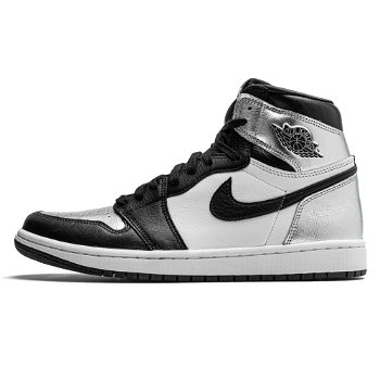 "Jordan Air Jordan 1 Retro High OG ""Silver Toe"" W CD0461-001"
