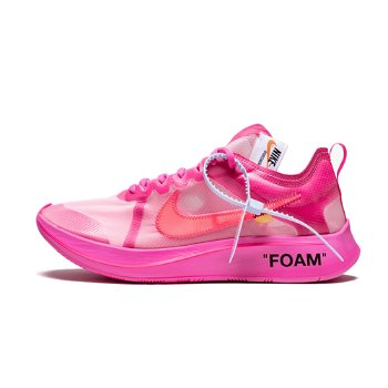 "Nike Off-White x Zoom Fly SP ""Tulip Pink"" AJ4588-600"