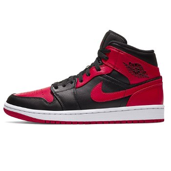 "Jordan Air Jordan 1 Mid ""Banned"" 554724-074"