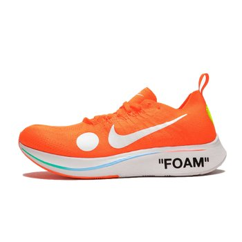 "Nike Off-White x Zoom Fly Mercurial Flyknit ""Total Orange"" AO2115-800"